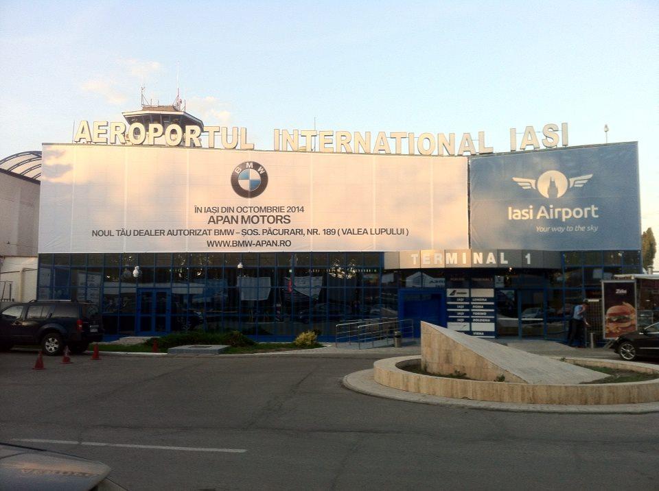 Asociere de imagine intre dealerul BMW, Apan Motors si Aeroportul International Iasi