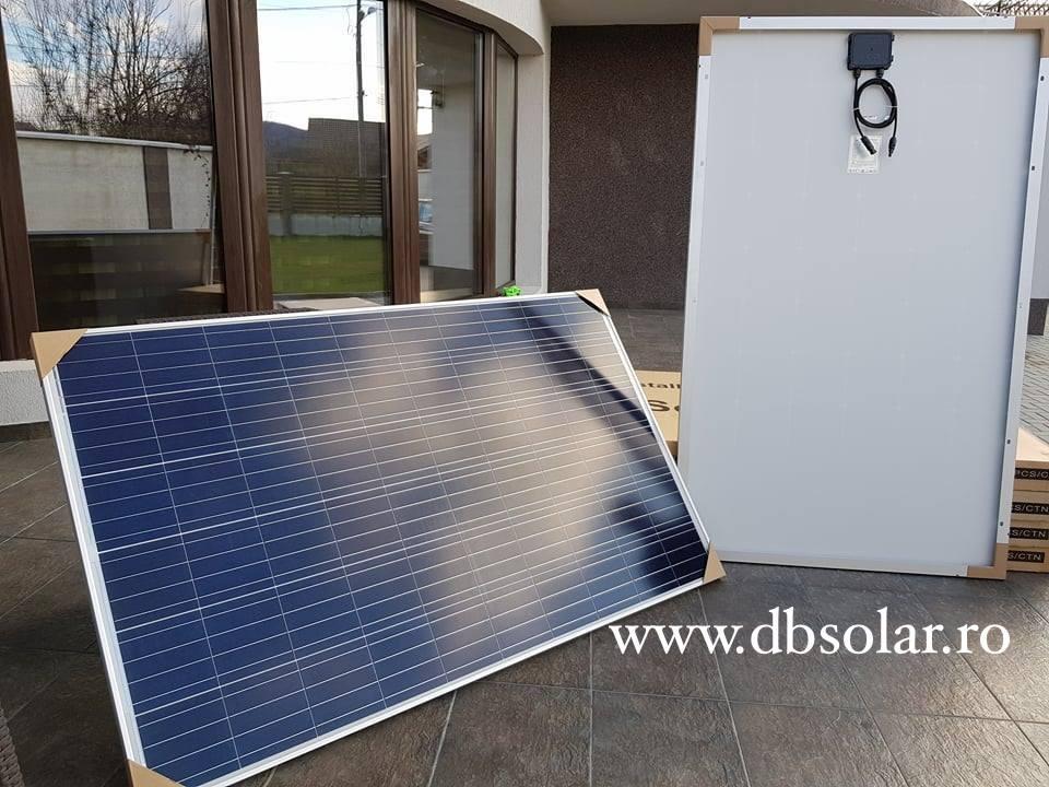 Panouri fotovoltaice de la DBSolar