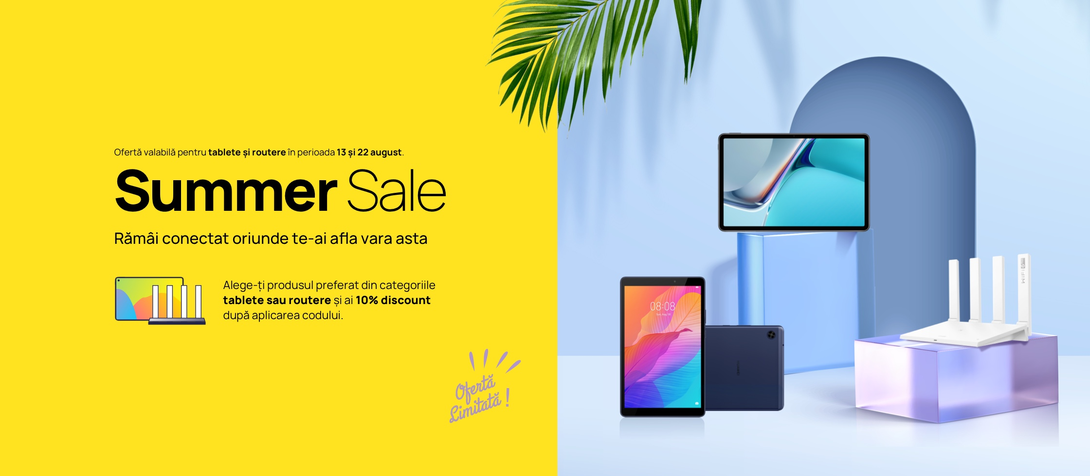 Summer Sale – tablete & routers