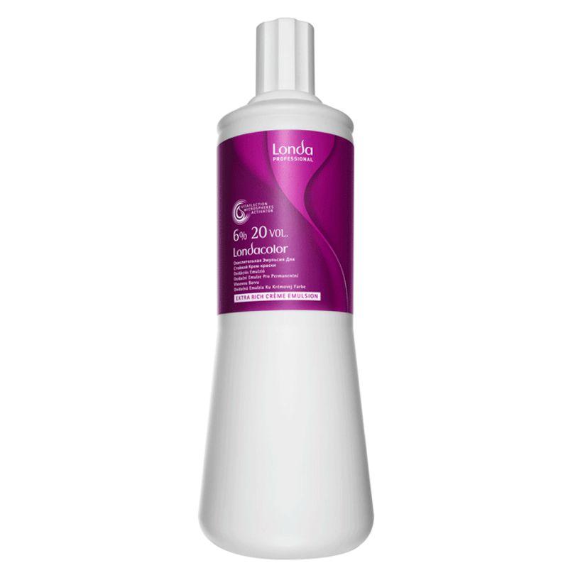 oxidant permanent – londa professional extra rich creme emulsion 20 vol 1000 ml
